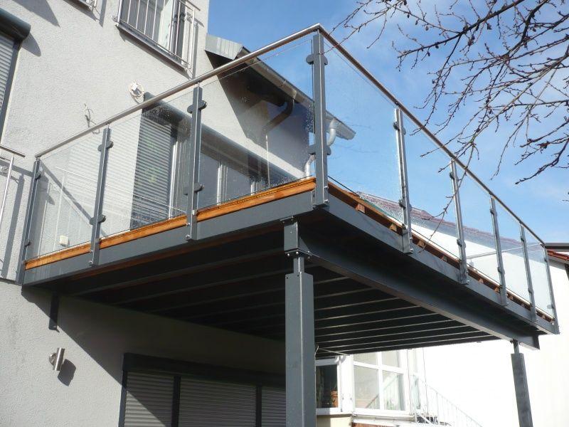 Balkonanlagen - Metallbau Kanler & Seitz | Balkon | Pinterest ...