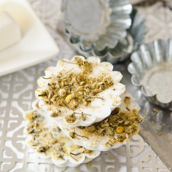 Handmade Chamomile Soaps DIY Kit - Stampington
