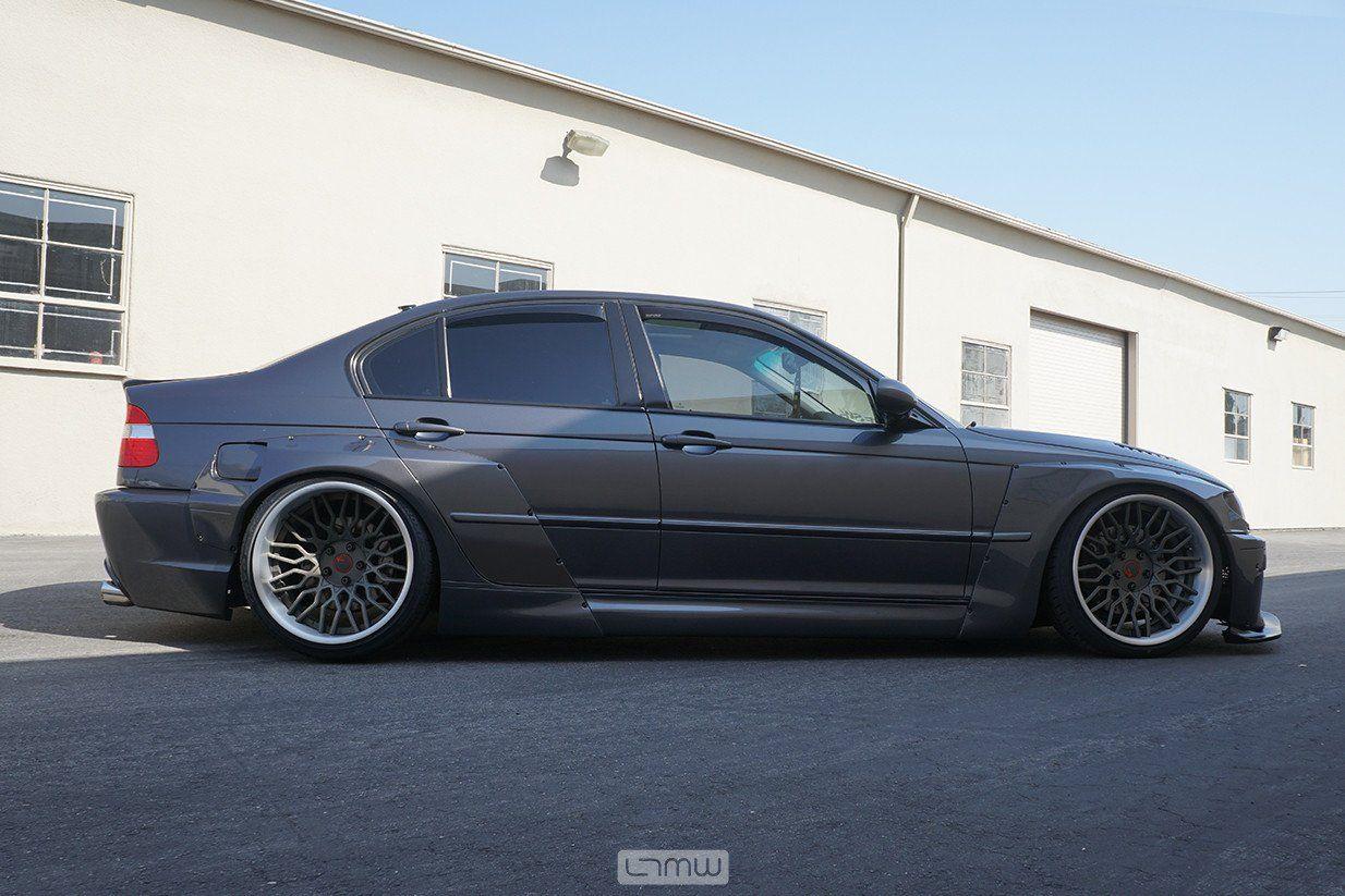 Pandem 4 door BMW E46 by LTMW & Pandem 4 door BMW E46 by LTMW | BMW e46 BMW and Bmw cars