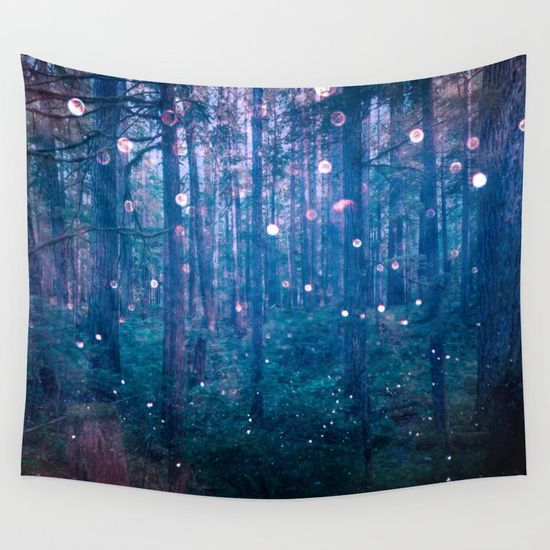 We Can Imagine The Nature Elementals And Other Fairy Creatures As Their Lights Weave A Path