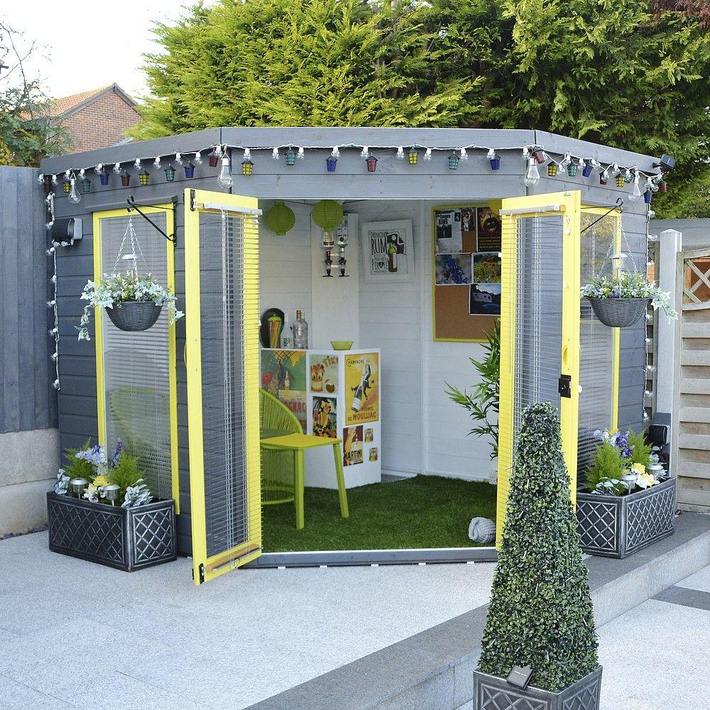 Waltons 8 x 8 Premier Corner Summerhouse | Summer house ...