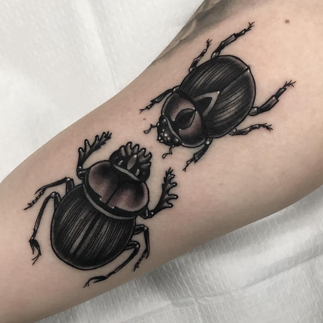 26++ Amazing Scarab beetle tattoo small ideas