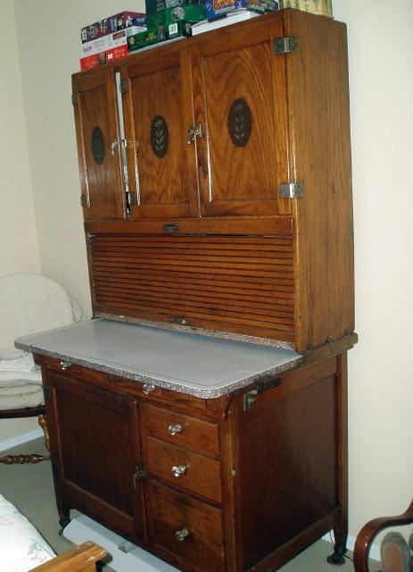Hoosier Cabinet Antique Hoosier Cabinet Vintage Cupboard