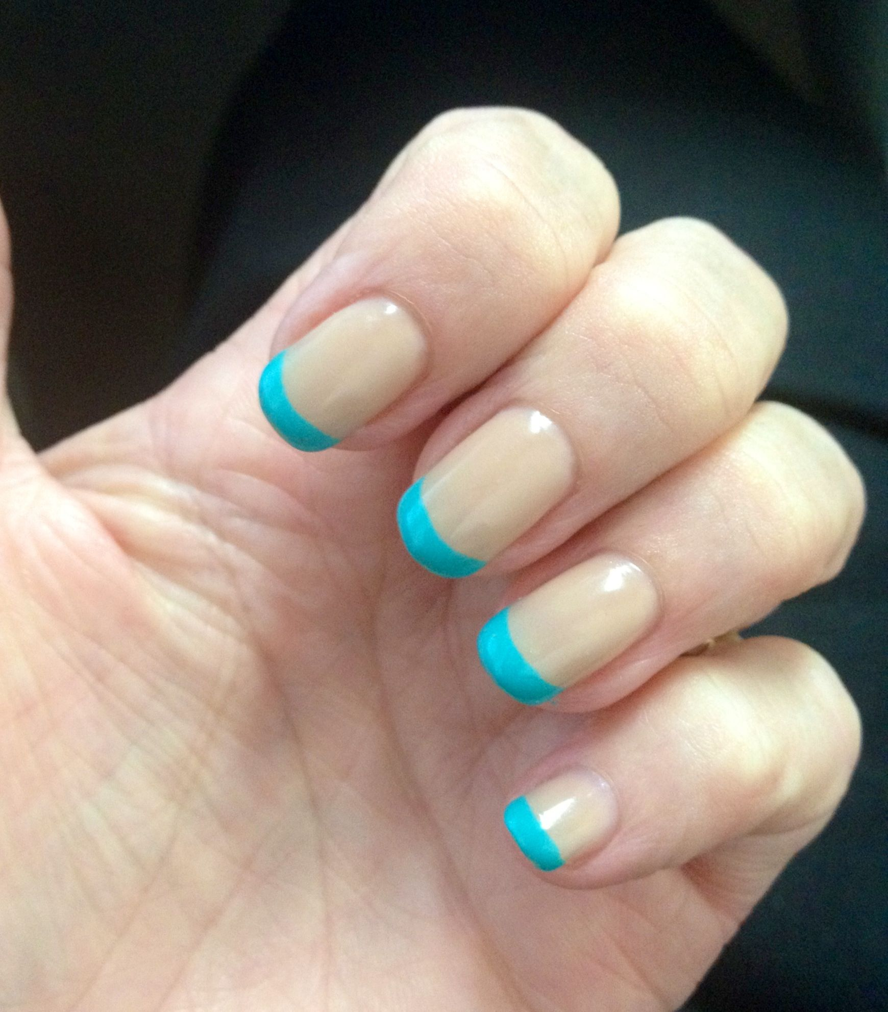 Artistic color gloss in chill , French with a twist , and sheer ...