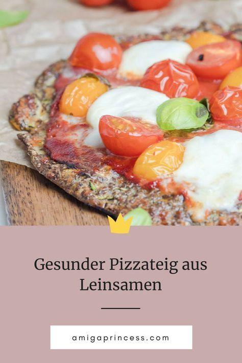 Leinsamen - das heimische Superfood | inkl. Pizzateig Rezept -