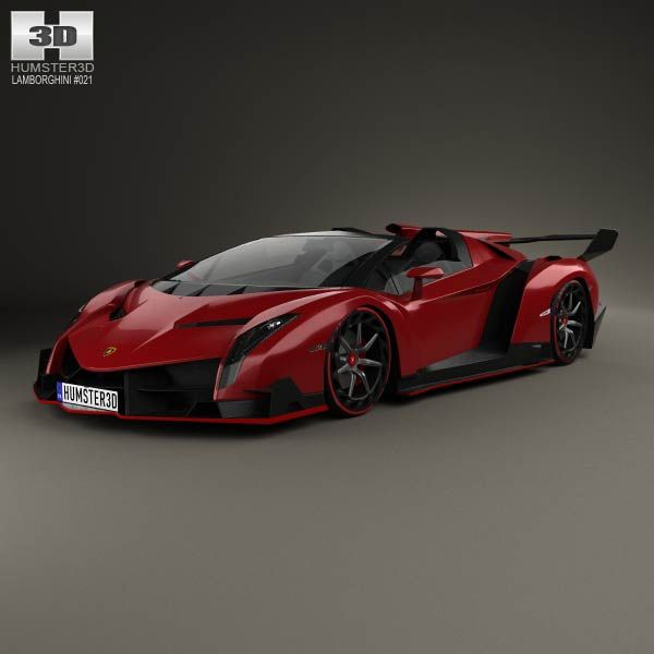 lamborghini veneno roadster 2014 3d model from price 75 lamborghini 3d models. Black Bedroom Furniture Sets. Home Design Ideas