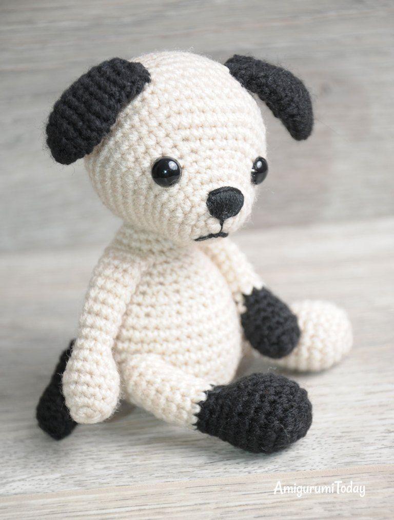 Amigurumi Tommy the Dog crochet pattern   Proyectos que debo ...