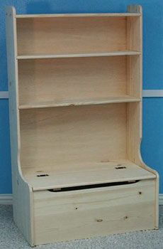 Toy Box Bookshelf Combo Melayna S Room Woode