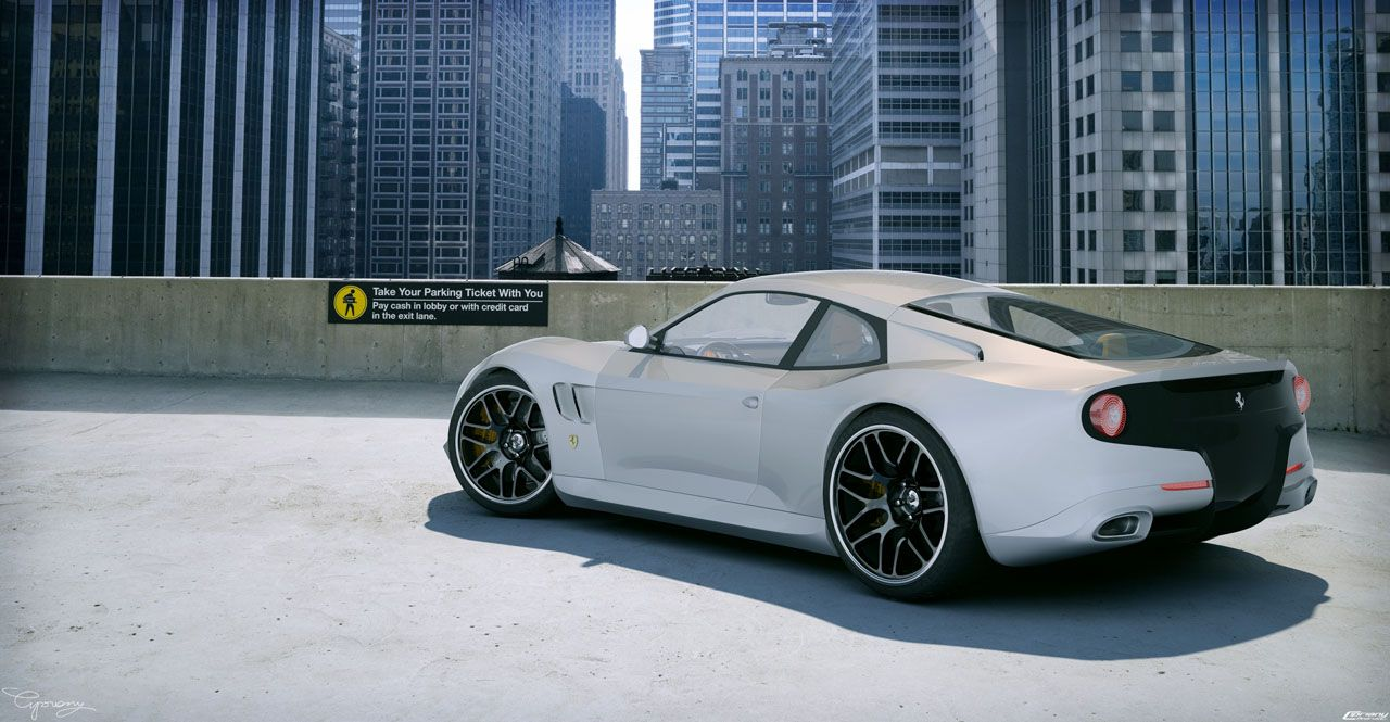 Ferrari Figaro Concepts - Diseno-art