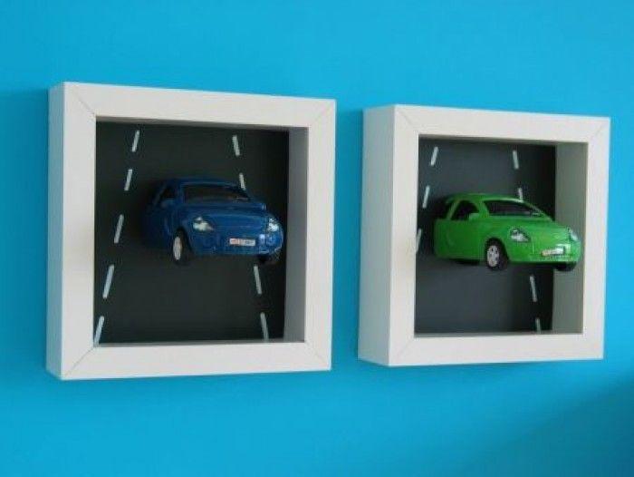 auto Jongens Slaapkamers   voor-aan-de-muur.1371410395-van-Hiltsje76 ...