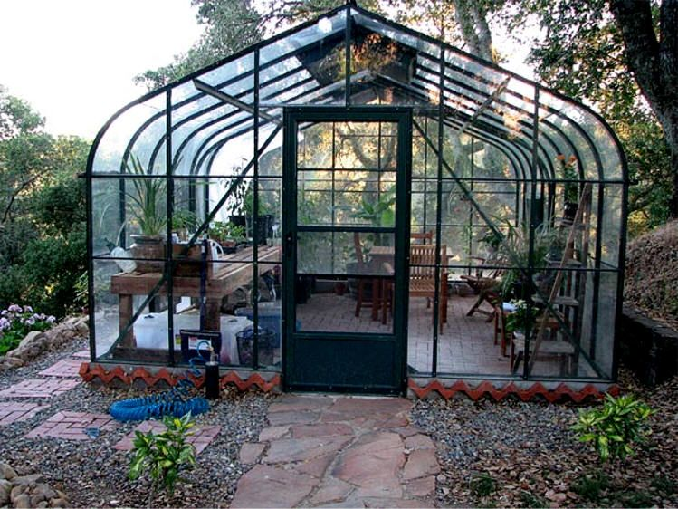 Superbe Gothic Arch Greenhouses Offers A Huge Selection Of Elegant, Stylish And  Attractive Curved Pacific Greenhouse Models, Backyard Greenhouses And  Backyard ...