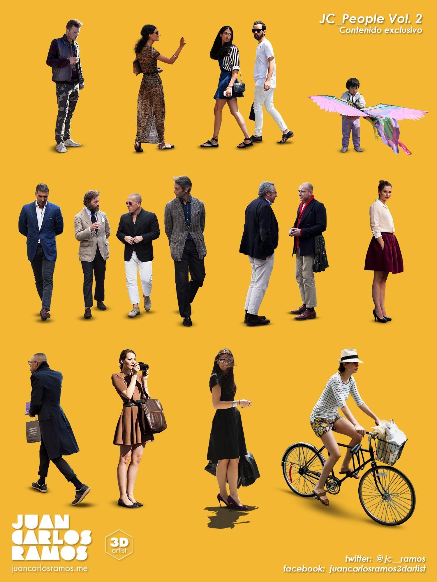 10 free 2d cutout people instant entourage pinterest people