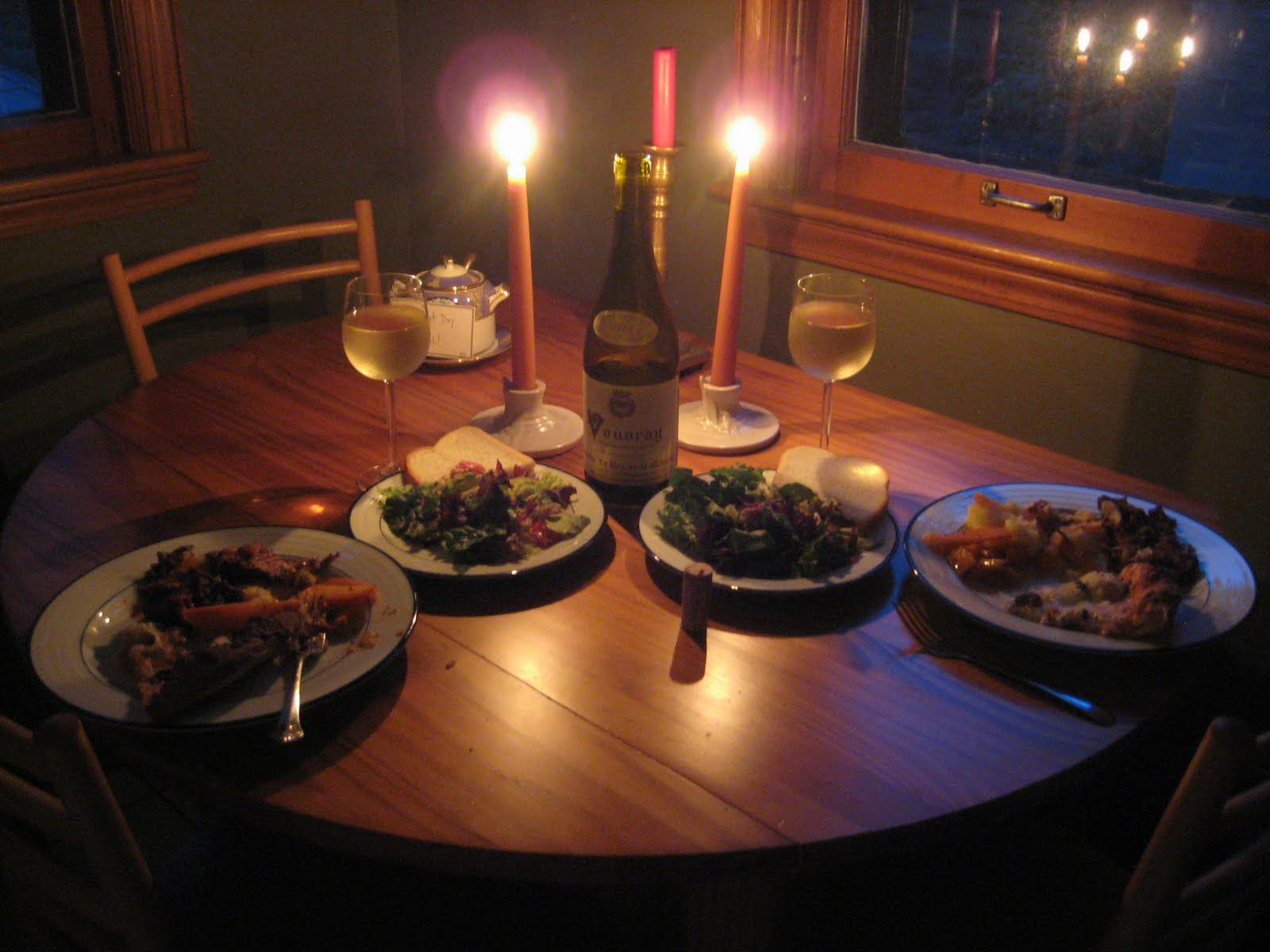 dinner for two | Romantic Dinner... | anniversary ideas ...