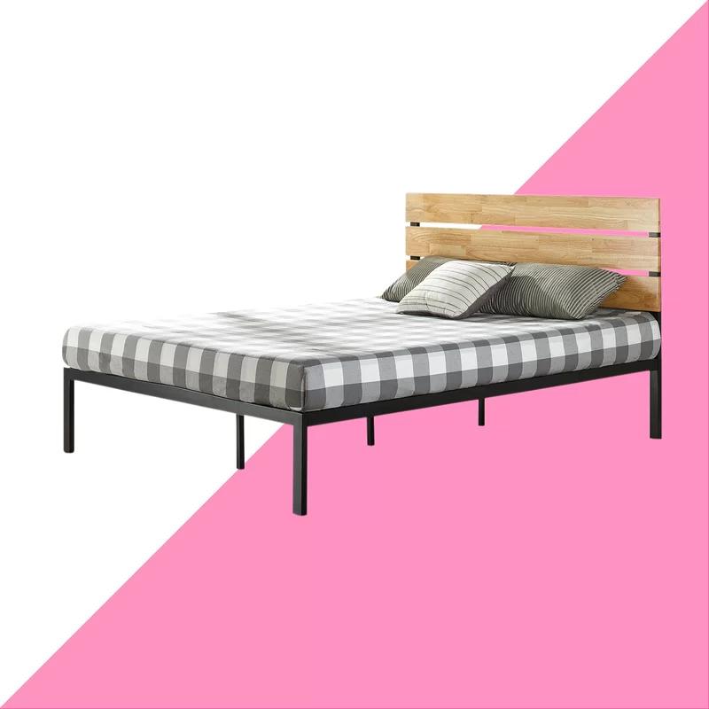 6 Leg Support Design Zinus Sleep Revolution Twin Size Compact Metal Bed Frame