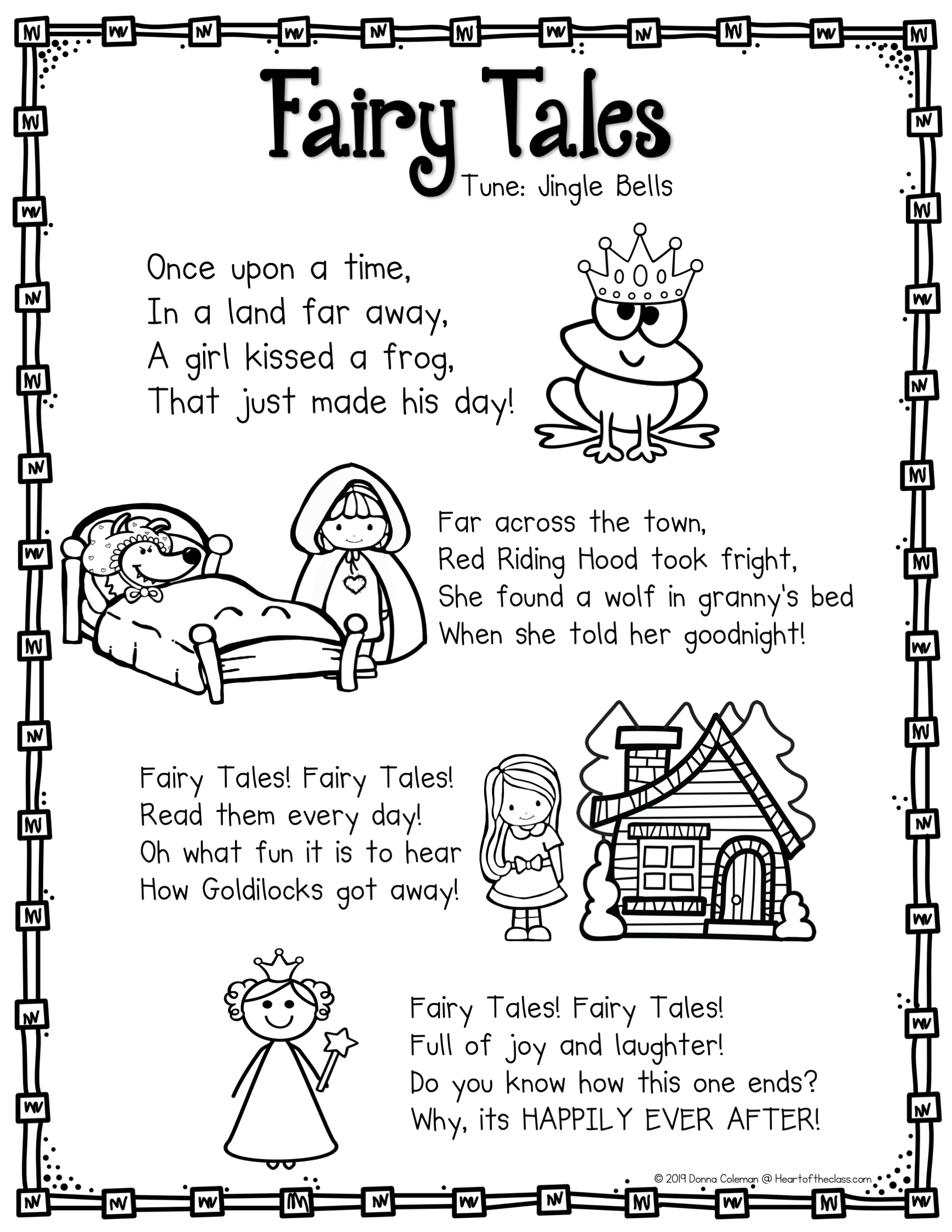 Fairy Tales Poem   Fairy tales preschool [ 2249 x 1738 Pixel ]