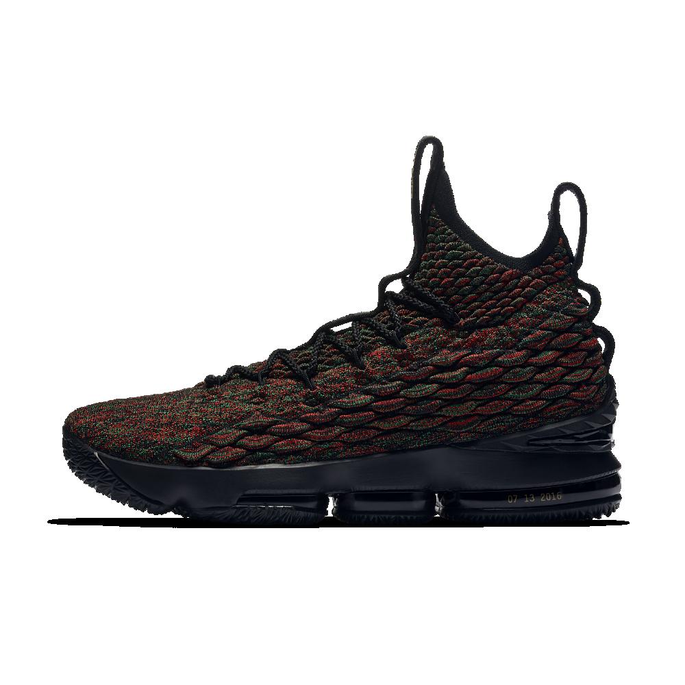 3664864dc99 Nike LeBron 15 BHM Men s Basketball Shoe Size 10.5