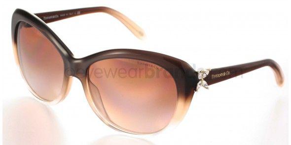 9c4d99cf84f Tiffany   Co TF4048B 8127 3B Brown Beige Tiffany Sunglasses ...