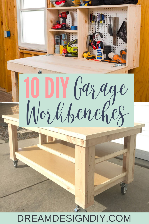 The 10 Best Garage Workbench Builds In 2020 Garage Work Bench