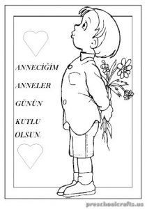 mothers day free printables coloring pages for kindergarten - Free Printables For Toddlers