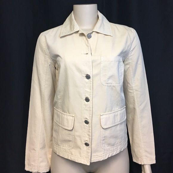 I just discovered this while shopping on Poshmark: Indigo Palms Tommy Bahama Cream Jacket XS. Check it out!  Size: XS, listed by remylovesrose