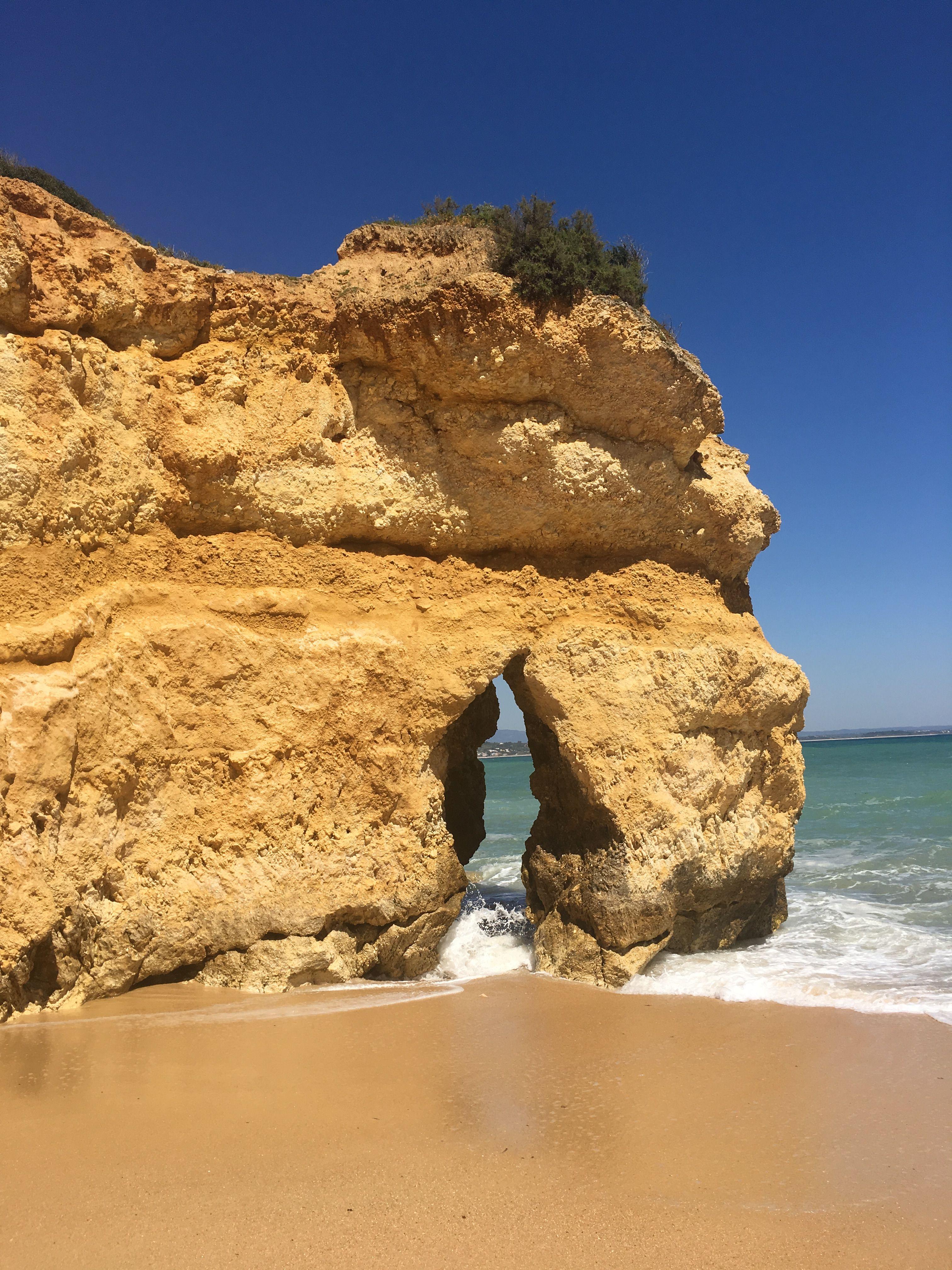 Beach Portugal Algarve Traveling Around The World Pinterest  # Muebles Sion Bogota