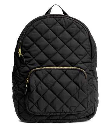 Quilted Backpack | Black | Ladies | H&M US