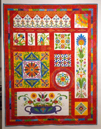 Paducah Quilt Museum | ... Mexico-now owned by the National Quilt ... : mexican quilt - Adamdwight.com