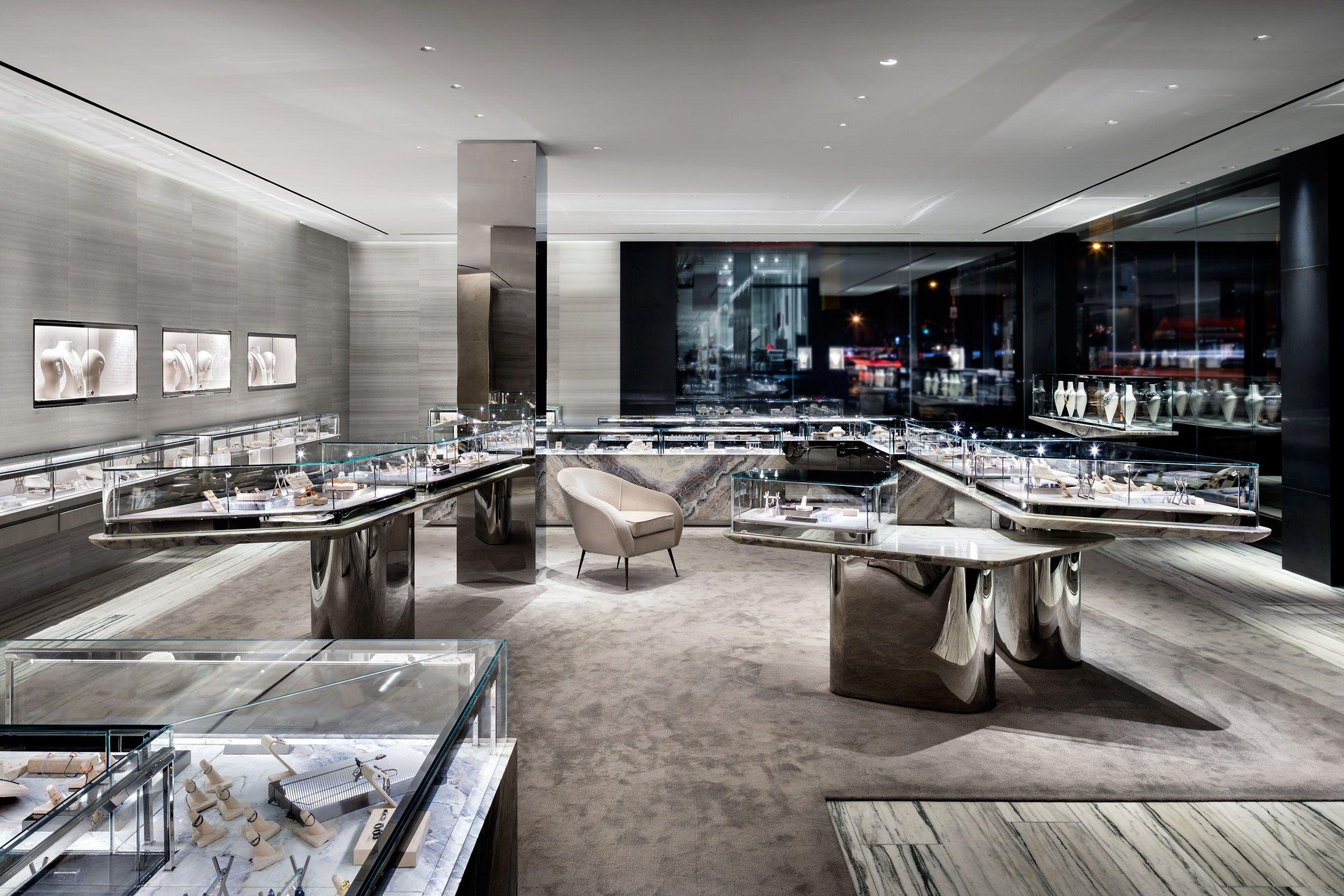 Inside The Design Of Barneys New York S Groundbreaking Downtown Flagship Interior Design New York Store Design Interior Design