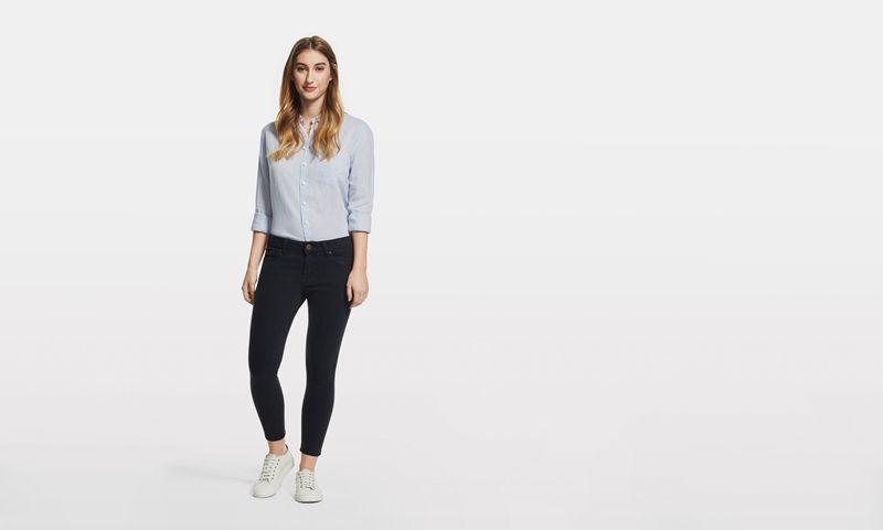 Shop DL1961 Premium Denim Wagner Jean Women Battle Skinny Jeans, perfect fitting jeans for women. DL1961 best sellers & new styles women's jeans.