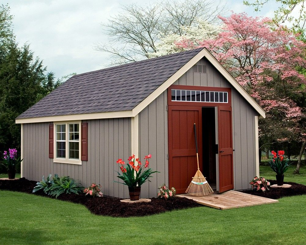 Deluxe Painted Classic Storage Sheds Green Acres Backyard Storage Sheds Backyard Sheds Shed Storage