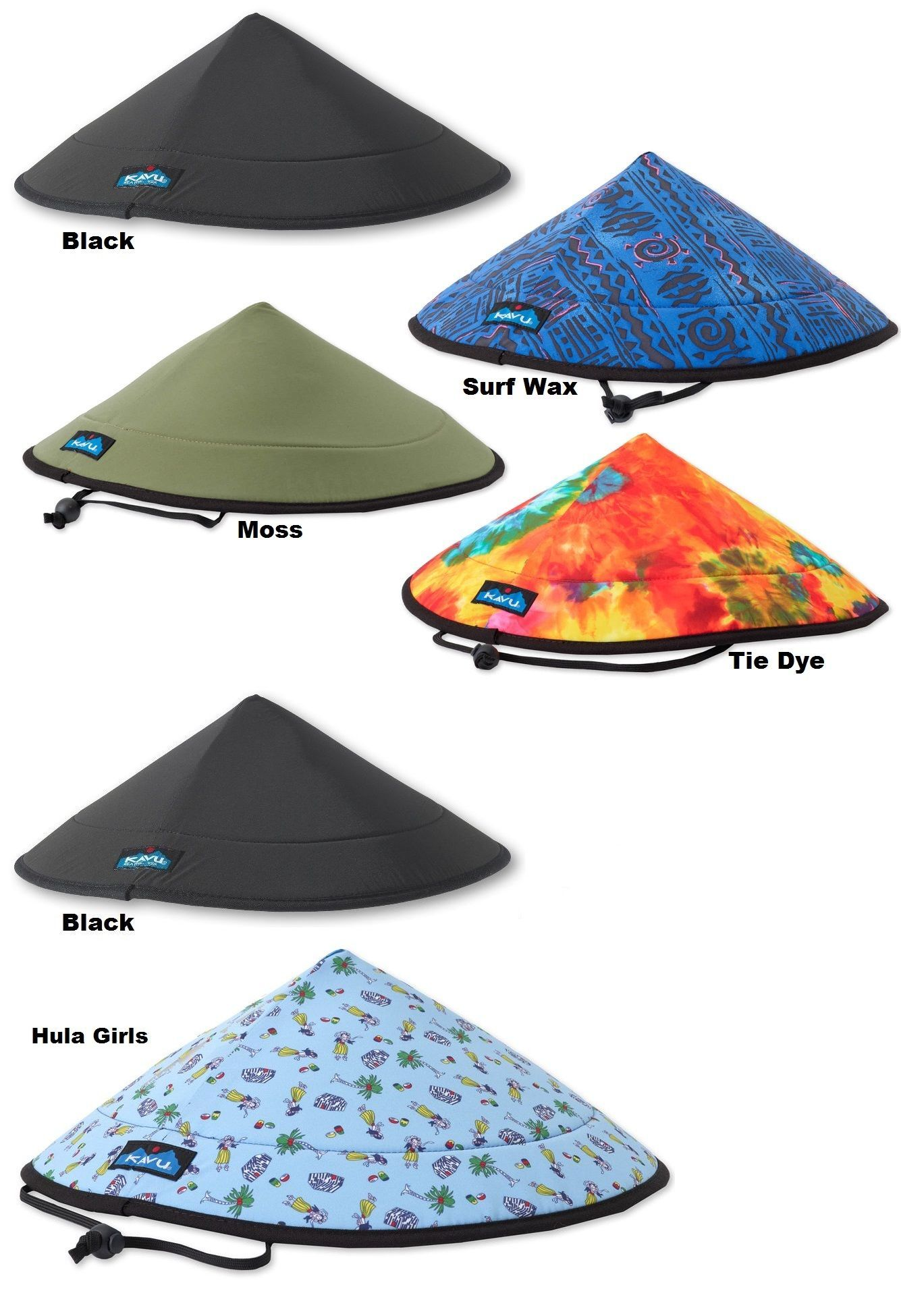 911061963 Hats 163543: Kavu Chillba Hat Drawcord Chinstrap Collapsible ...