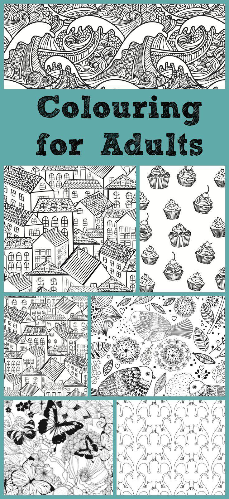 Colouring Books for Adults Arts