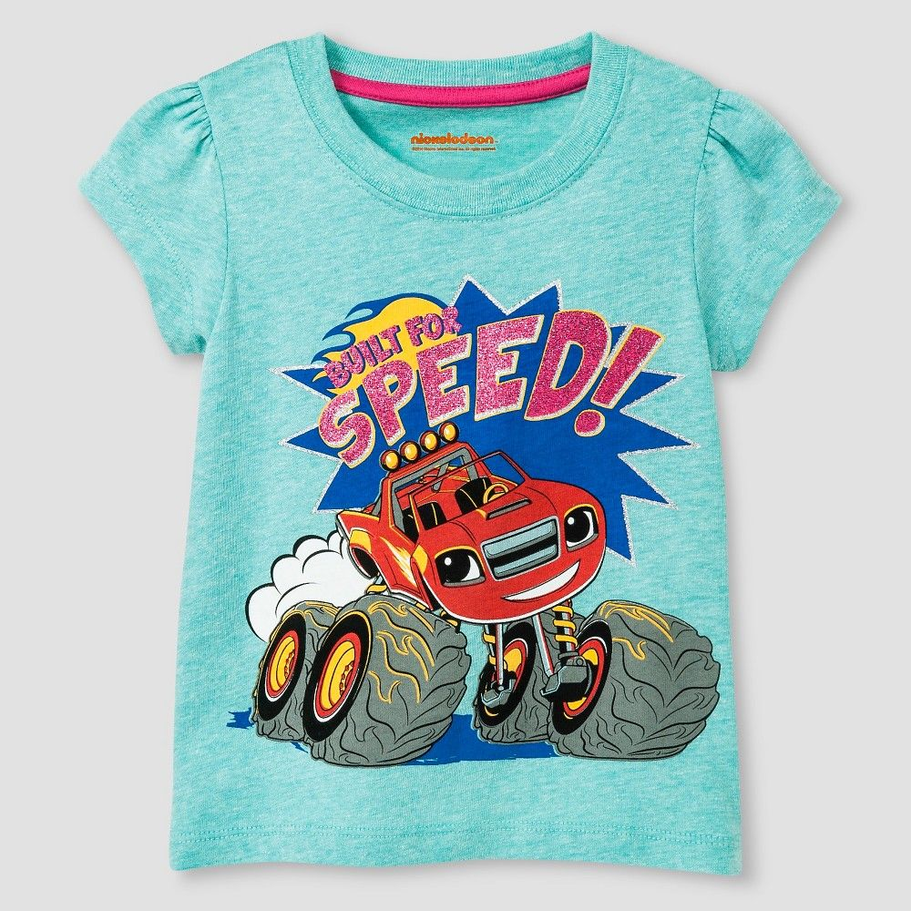 authorized site high fashion best shoes Blaze and the Monster Machines Toddler Girls' T-Shirt 4T ...