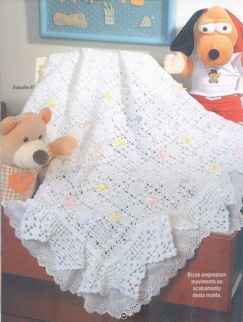 Crochet Knitting Handicraft: Knitting | crochet | Pinterest | Manta ...