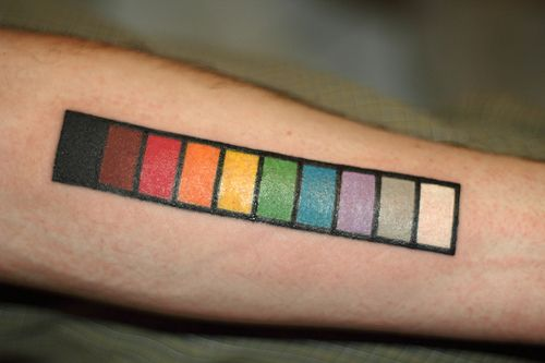 Resistor Color Code Tattoo  Infoink    Tattoo And Tatting