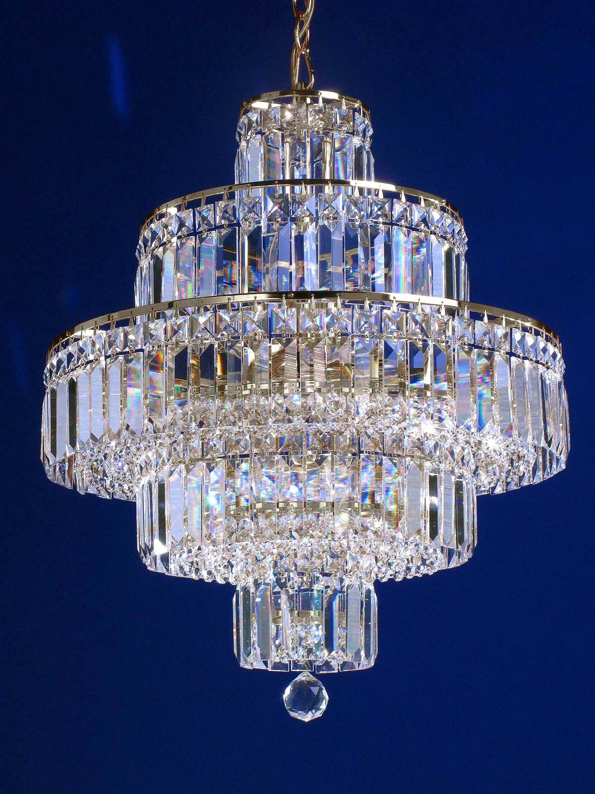 How Gorgeous Crystal Chandelier Lighting Crystal Chandelier