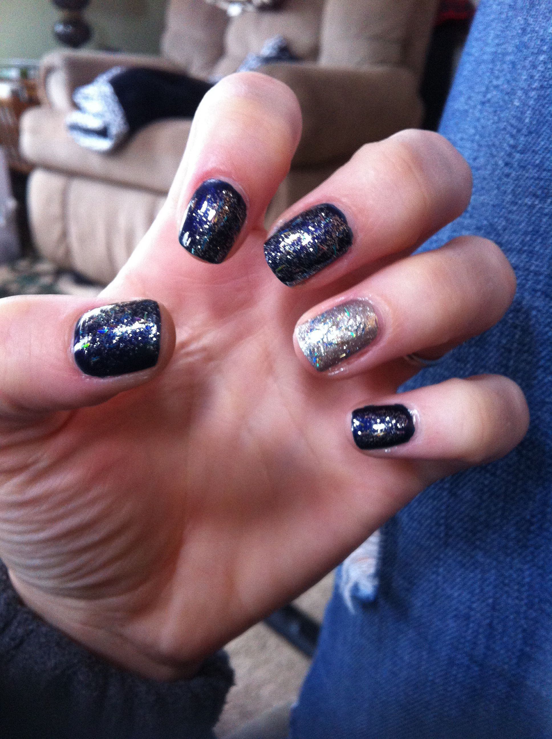 My New Year's Eve nails!!!