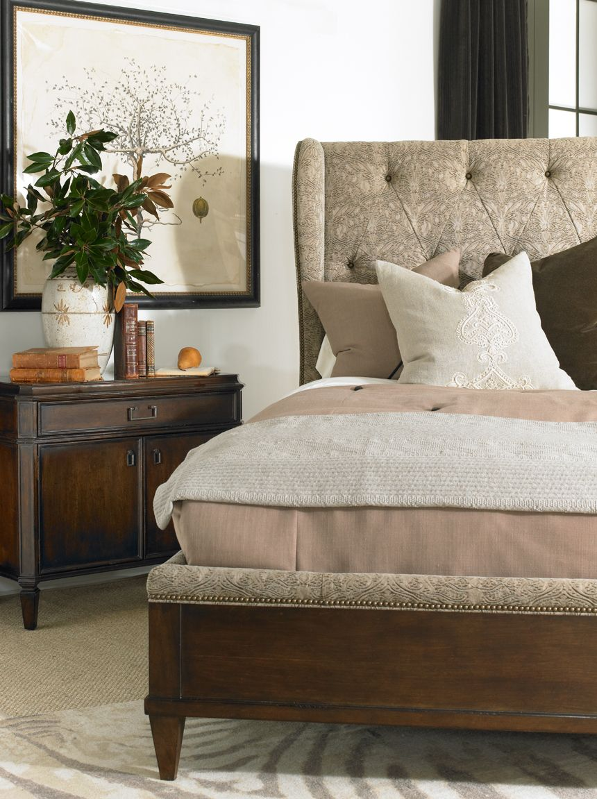 Hickory White 58523 Whitman Wing Bed (With images