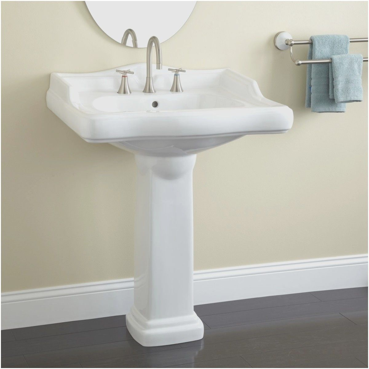 Small Bathroom With Pedestal Sink Ideas Lovely Elegant Bathroom