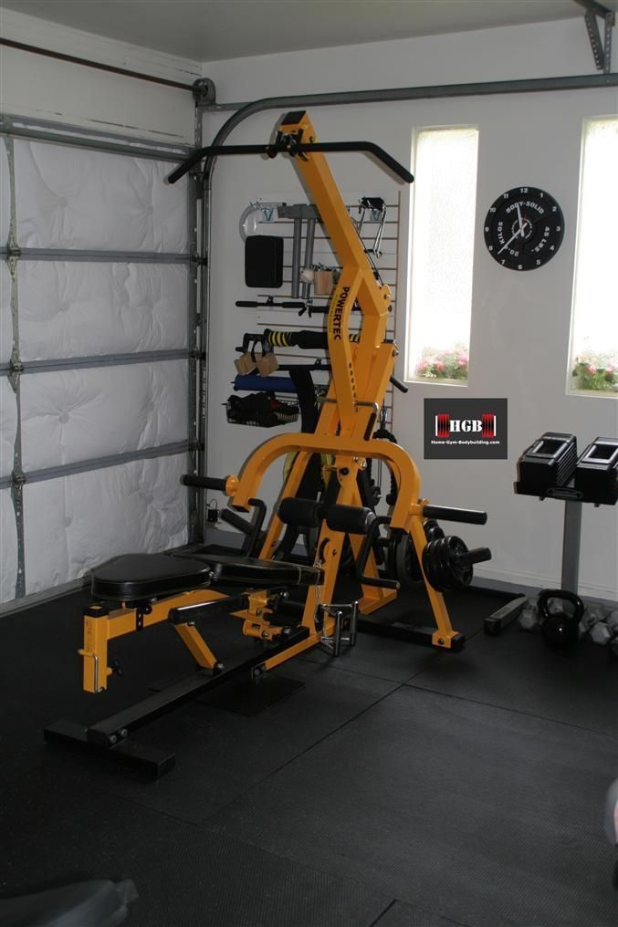 My Gym Is Now In A 400 Square Foot Garage