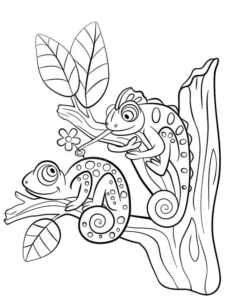 16++ Cartoon lizard coloring pages ideas in 2021