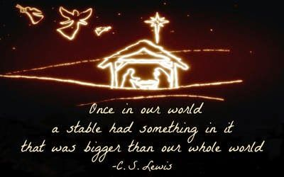 C.S. Lewis, Christmas, stable | Christmas quotes, Cs lewis quotes,  Christmas quotes inspirational