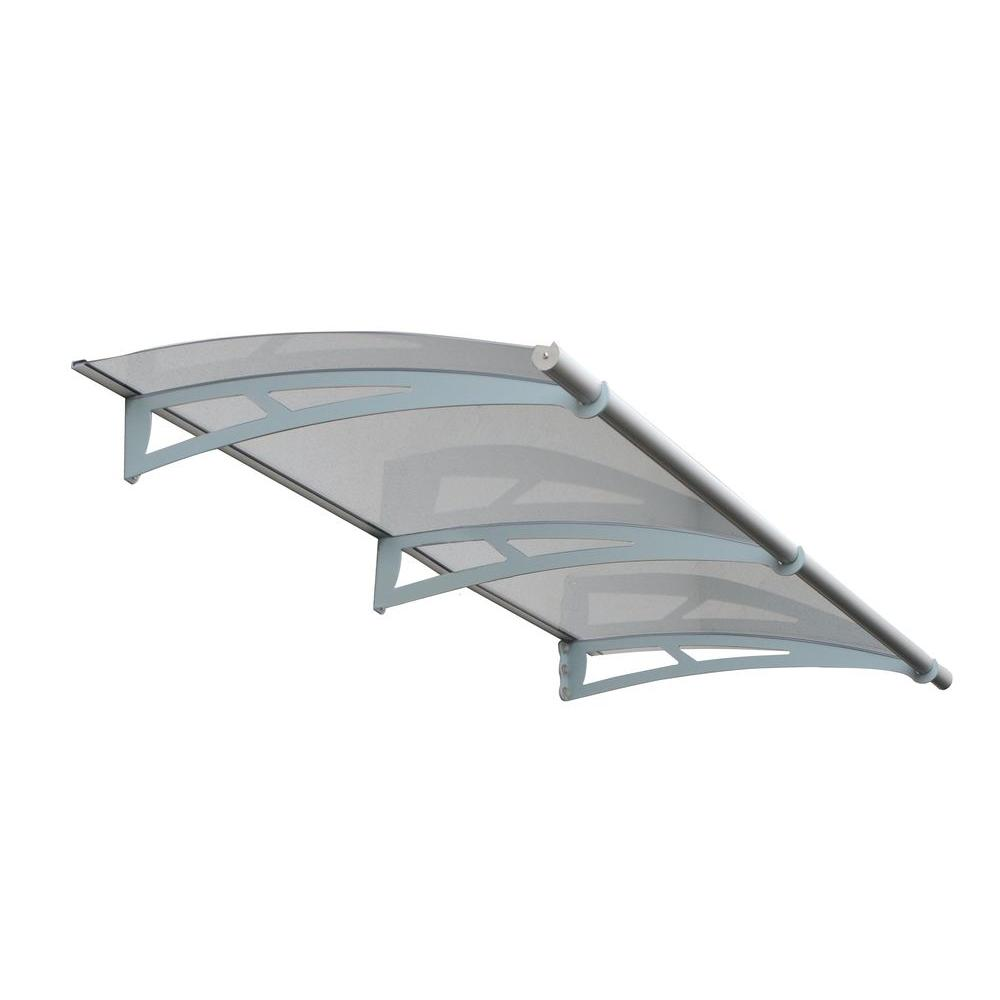 Palram 6 Ft 9 In Aquila 2050 Awning 6 9 In H X 3 Ft D Solar Gray