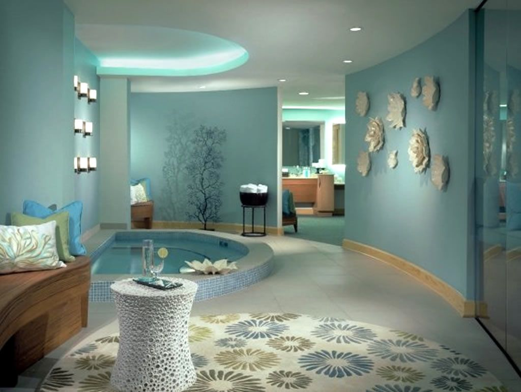 Spa Interior Design Idea