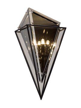 Epic 2 Light Wall Sconce From Avant Garde Lighting On Gilt