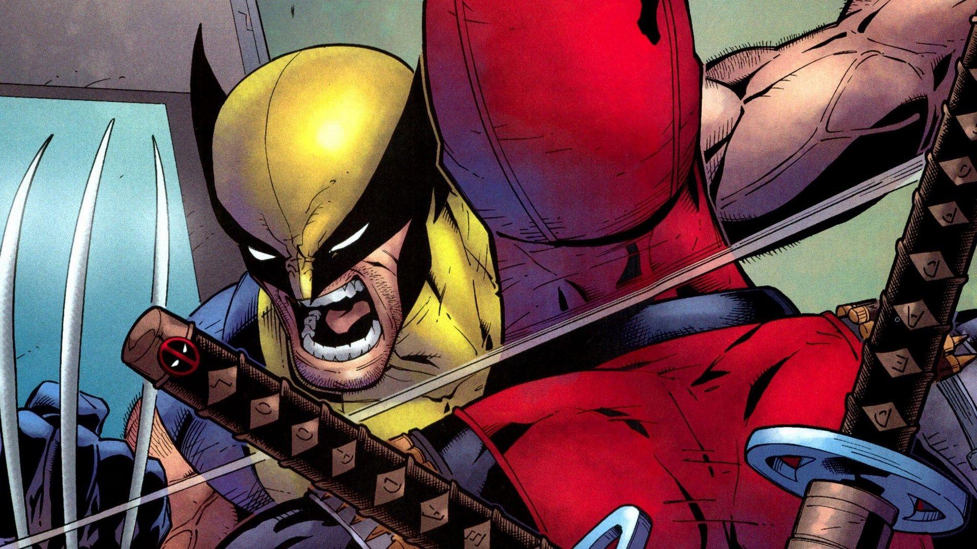 Desktop Wallpaper For X Men Origins Wolverine Vs Deadpool Deadpool Deadpool Hd Wallpaper Wolverine