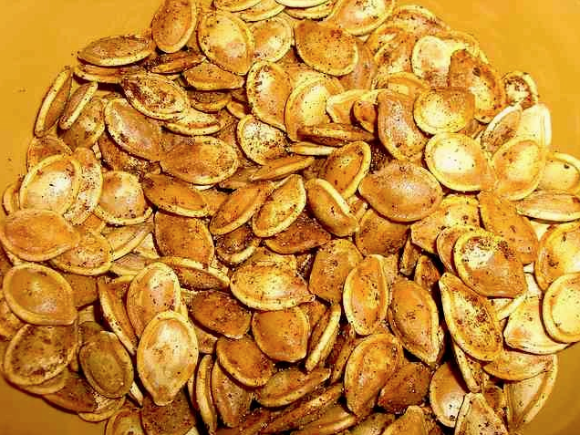 Old Bay Pumpkin Seeds #roastedpumpkinseedsrecipe