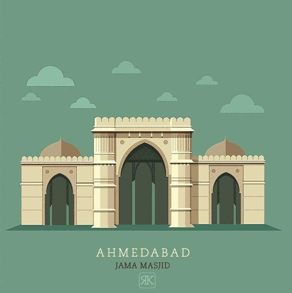 Ahmedabad vector
