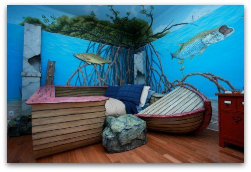 Boat Bed Sleep With The Fishes Kid Beds Cool Kids Rooms