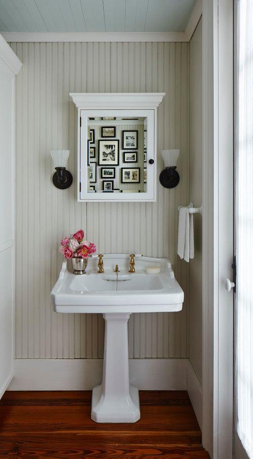 Palmer Residence Charming Home Tour Country living, Bathroom